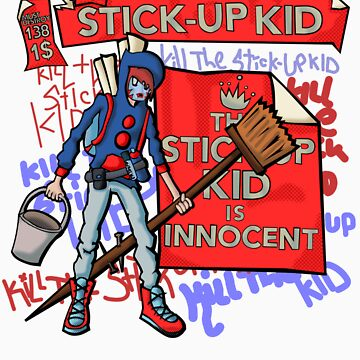 The Stick-Up Kid -  New York Comic Con Design Challenge by BrokenRenegade