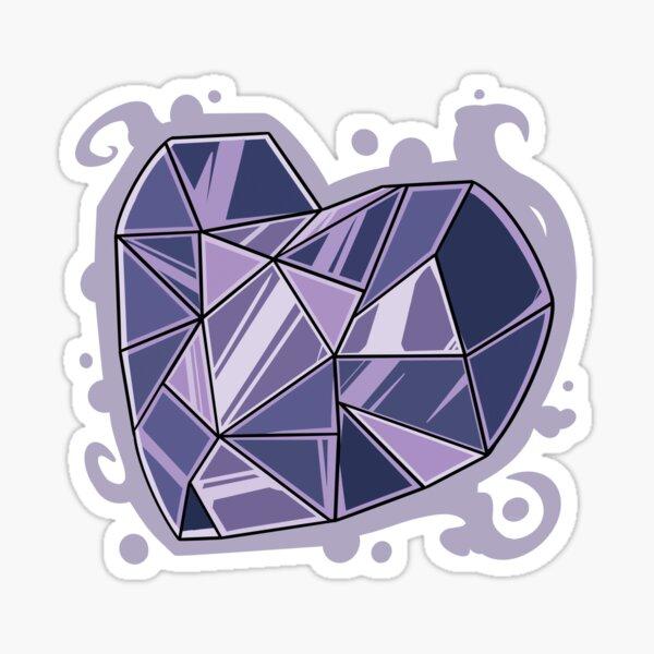 Full Corrupted Heart Sticker