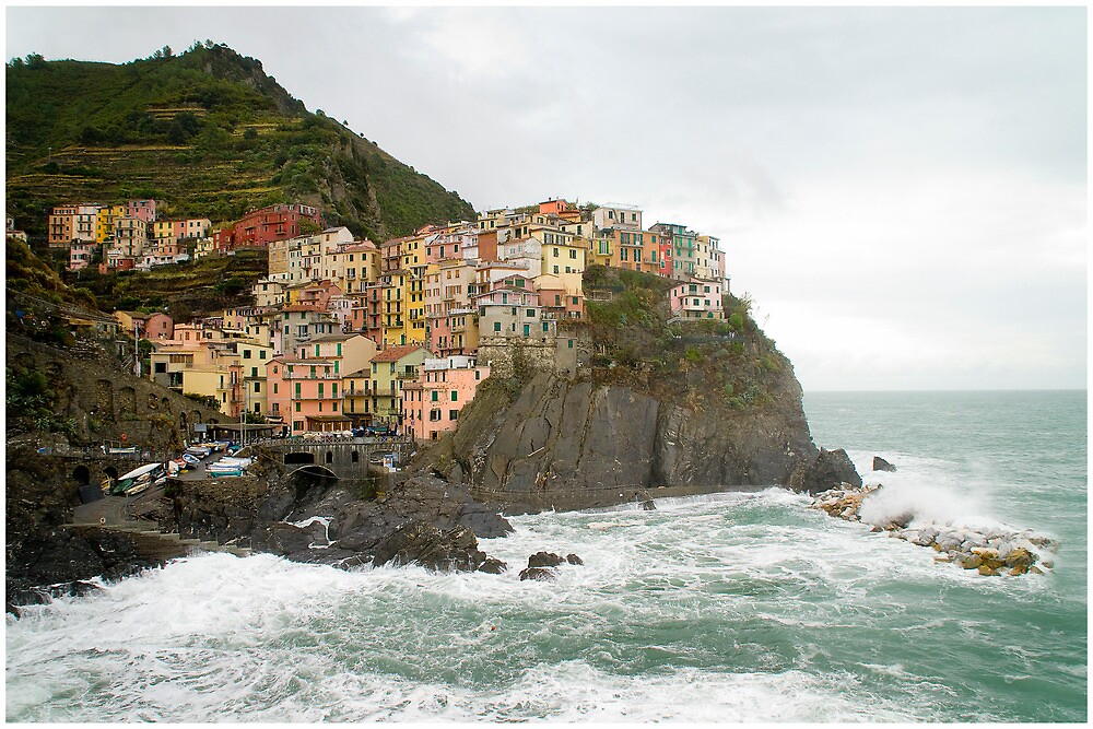 Monterosso al Mare, Italy by Rob Bannister