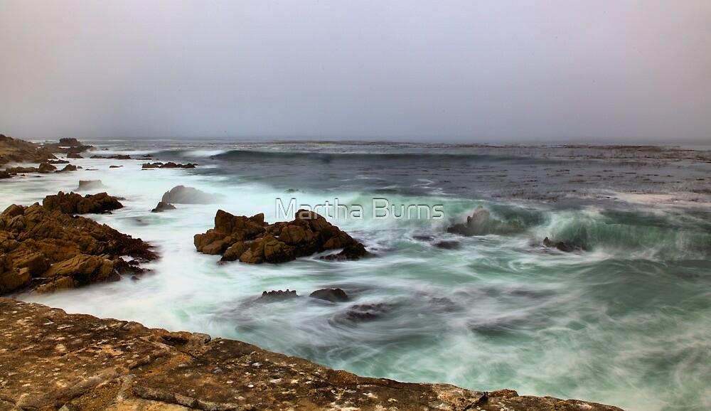 Smooth waves -Monterey Bay, CA by MarthaBurns