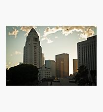 The Heart of LA Photographic Print