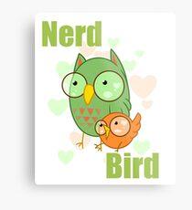 Nerd Bird Metal Print