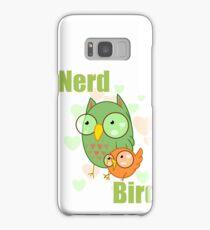 Nerd Bird Samsung Galaxy Case/Skin
