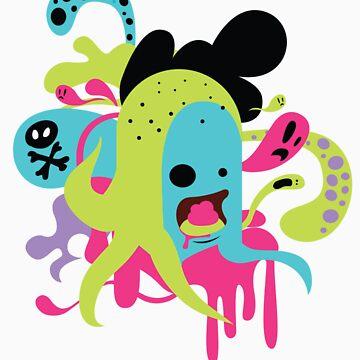 Zombie Nom by grrlmarvel
