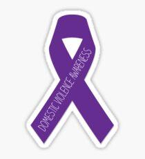 Domestic Violence Awareness Ribbon  Sticker