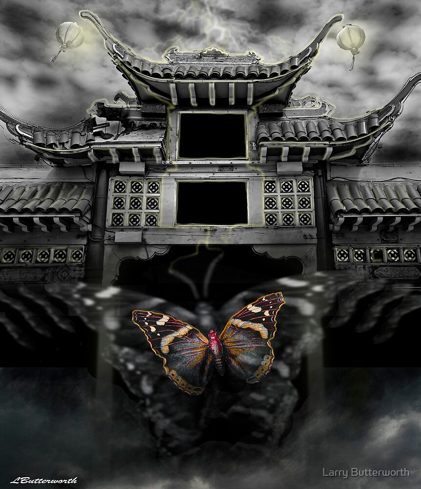 THE BUTTERFLY EFFECT (Does the flap of a butterfly's wings in China set off a tornado in Texas) by Larry Butterworth