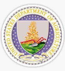US Dept of Agriculture Seal Sticker Sticker