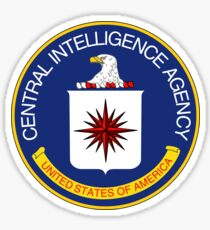 CIA Central Intelligence Agency Seal Sticker Sticker
