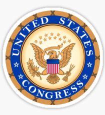 US Congress Seal Sticker Sticker