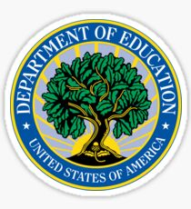 US Department of Education Seal Sticker Sticker