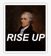 Rise Up Alexander Hamilton Sticker