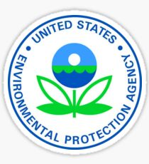 US Environmental Protection Agency Seal Sticker Sticker