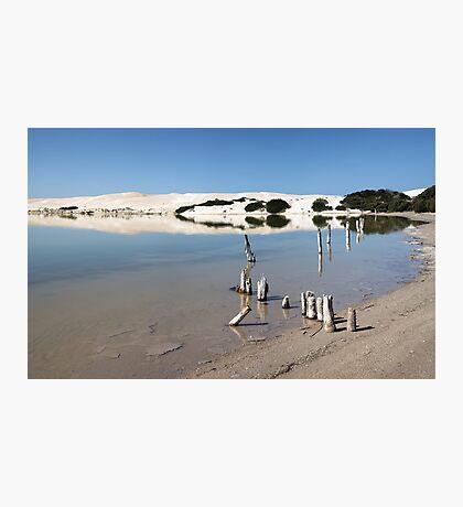 Sheringa lagoon Photographic Print