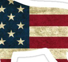 American Dog Sticker