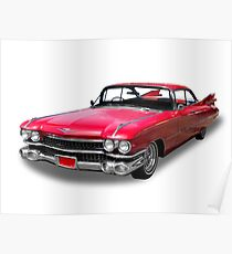 50's Cadillac Poster