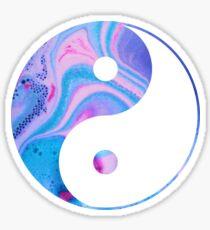 Bath Bomb YinYang. Sticker