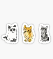 cat tumblr drawings  Sticker