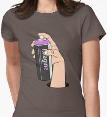 imagine vs. vandal Womens Fitted T-Shirt