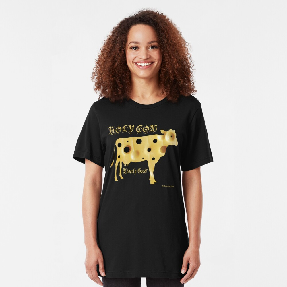Holy Cow Slim Fit T-Shirt