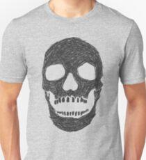 Scribble Skull T-Shirt