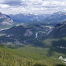 Banff and The Bow River Valley by George Cousins