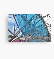 The Helix Bridge 5 Canvas Print