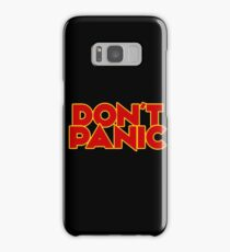 Dont Panic - The Hitchhiker's Guide to the Galaxy Samsung Galaxy Case/Skin