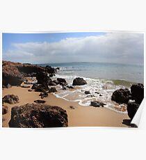 Cowes coastline Poster
