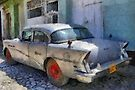 Old Buick, Trinidad, Cuba by David Carton
