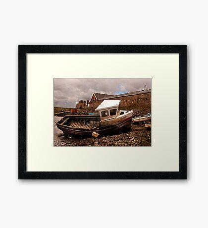 The Boat Jennifer - Paddy's Hole Framed Print