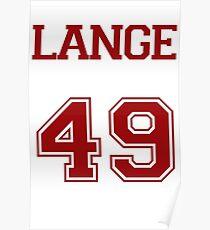 Lange Varsity Poster