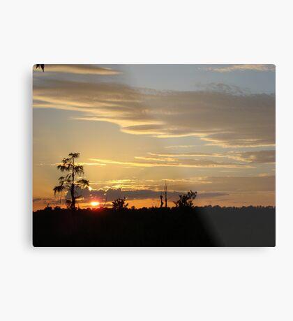 Beautiful October Sunset 2015 Metal Print