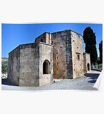 Basilica of Ayios Titos (Saint Titus). Poster