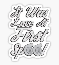 Love at first Spool Sticker