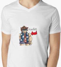 aaron Mens V-Neck T-Shirt