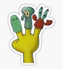Three Friends Too Many Sticker