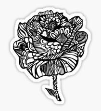 rose' Sticker