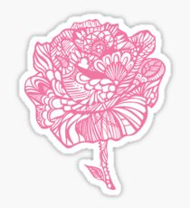 rose'pink Sticker
