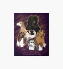 For The Love Of Pure Bred Dogs Art Board Print