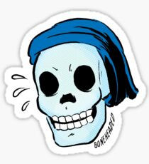 Boneheaded Sticker