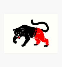 Panther Pants Art Print