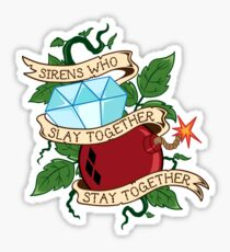 Slay Together, Stay Together - Gotham City Sirens Clean Sticker