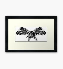 Ornate Falcon Framed Print