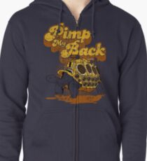 Pimp My Back Zipped Hoodie