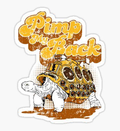 Pimp My Back Sticker