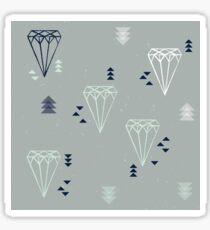 Diamond pattern Sticker