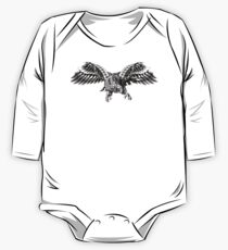 Ornate Falcon One Piece - Long Sleeve