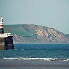 Ramsey Coastline - A View From The Pier by Sammie Caine