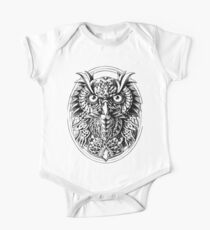 Owl Portrait Kids Clothes