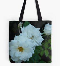 The White Roses of Cap Ferrat Tote Bag